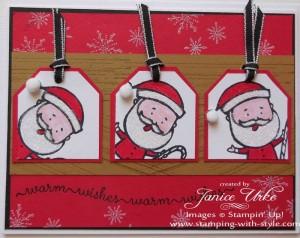 CARD #3: Color Me Christmas