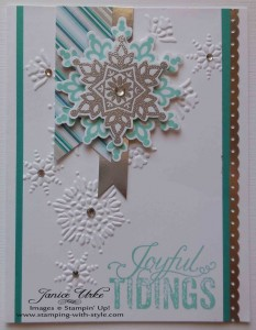 CARD #6: Joyful Tidings