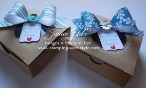 CARD #12 - Gift Box with Bow