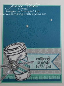 CARD #16: A Perfect Blend