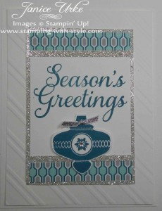 CARD #17: Season's Greetings