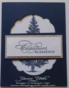 CARD #4: Christmas Blessing