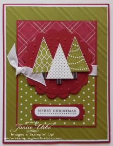 CARD #7: Pennant Christmas