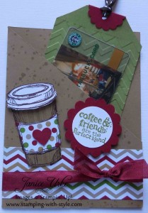 CARD #20: A Perfect Blend Gift Card Holder