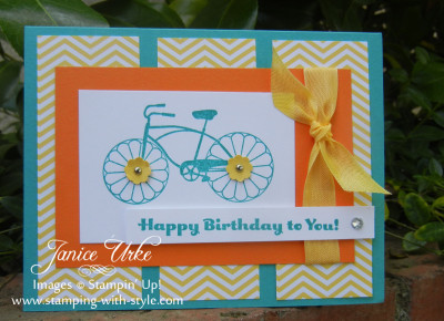 Cycle Celebration Happy Birthday