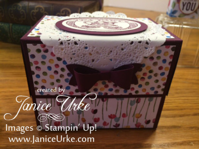 painted blooms box